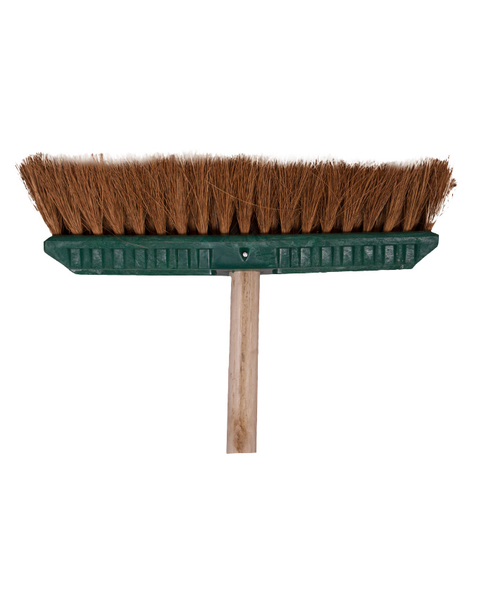 NATURAL COCO FIBRE SWEEPING BROOM